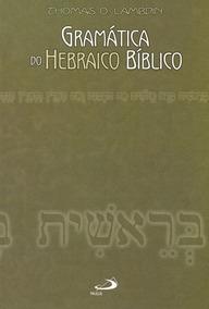 Livro Gramática Do Hebraico Bíblico