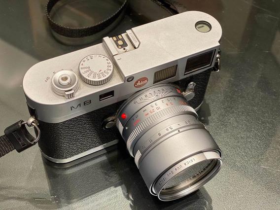 Leica M8 Silver (apenas O Corpo)