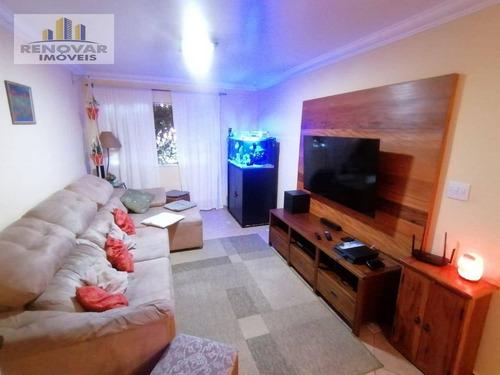 Sobrado Com 3 Dormitórios À Venda, 117 M² Por R$ 540.000,00 - Vila Caputera - Mogi Das Cruzes/sp - So0424