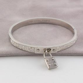 Pulseira Bracelete Michael Kors Cadeado