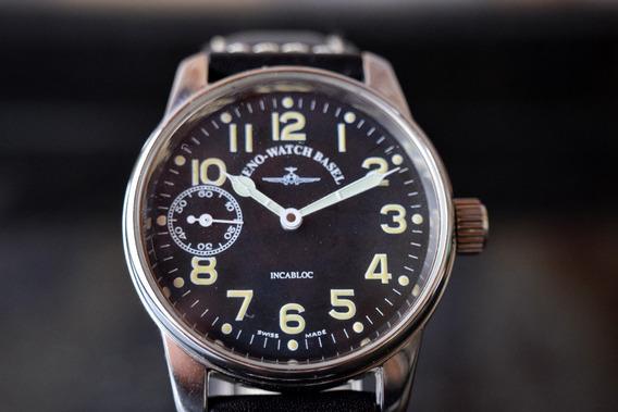 Relógio Zeno Watch Basel - Modelo Militar Aviador Pilot