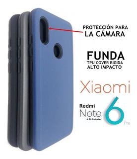 Funda Tpu Protege La Cámara Xiaomi Redmi Note 6 Pro Rosario