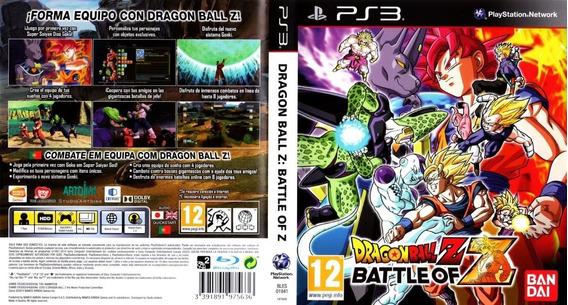 Dragon Ball Z Battle Of Z Ps3 Via Psn