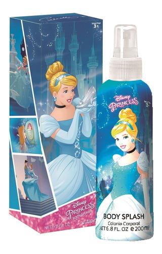 Perfume Infantil Disney Cenicienta Body Splash 200ml