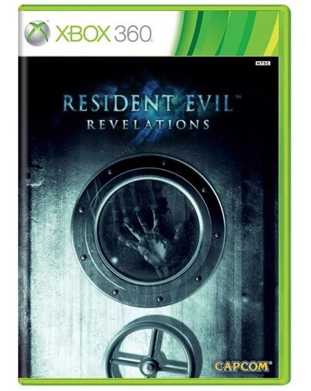 Resident Evil Revelations Xbox 360 Mídia Física Usado