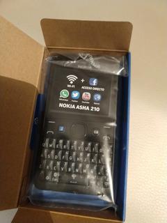 Nokia Asha 210 Color Negro Nuevo. $1299 Con Envío.
