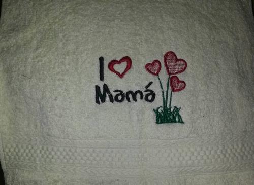 Toalla Personalizadas Día De Las Madres Y Mas.