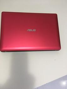 Notebook Asus Vermelho Semi Novo