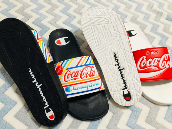 Champion Slides X Coca Cola