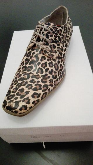 Zapatos Cuero Hombre