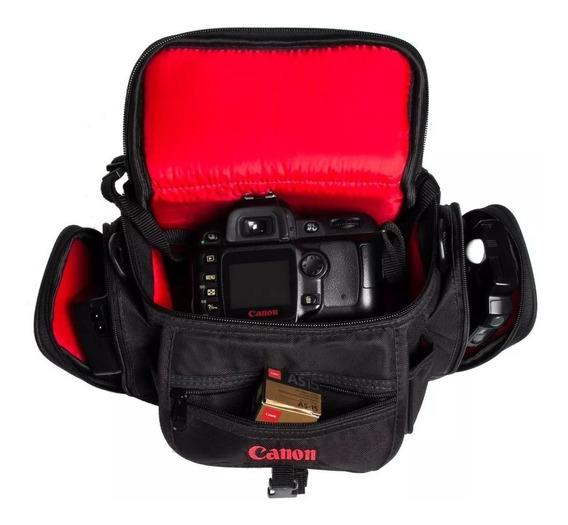 Bolsa Case Canon T3 T4 T5 T3i T4i T5i T6i T7i Dslr T6s