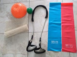 Lote Accesorios Pilates Yoga Mir Impecables Liquidación