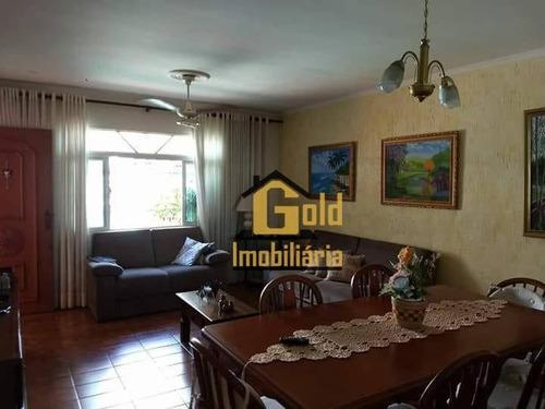 Casa Com 3 Dormitórios À Venda, 170 M² Por R$ 350.000,00 - Parque Das Andorinhas - Ribeirão Preto/sp - Ca0276