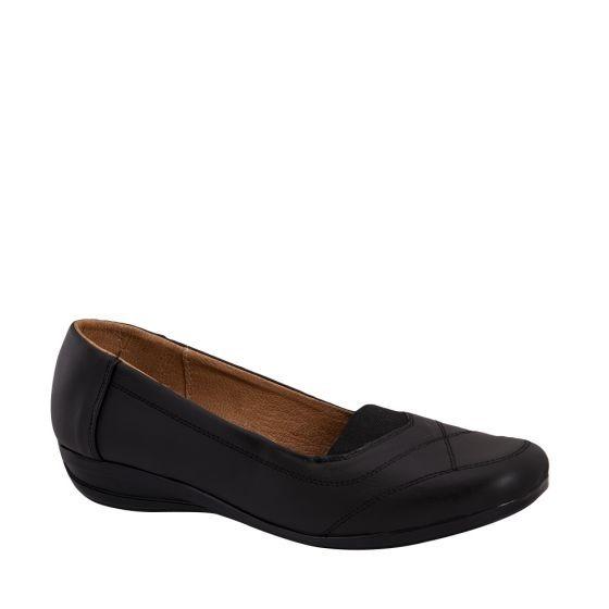 Zapato Confort Dama Shosh Negro 178772 Cft 1-19 J