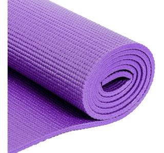 Colchoneta Mat Yoga Pilates Fitness Gym Importador 6mm