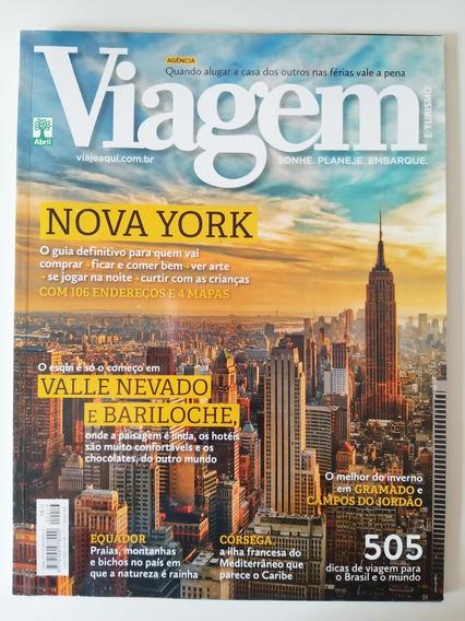 Revista Viagem E Turismo Nº213 - Nova York - Julho De 2013