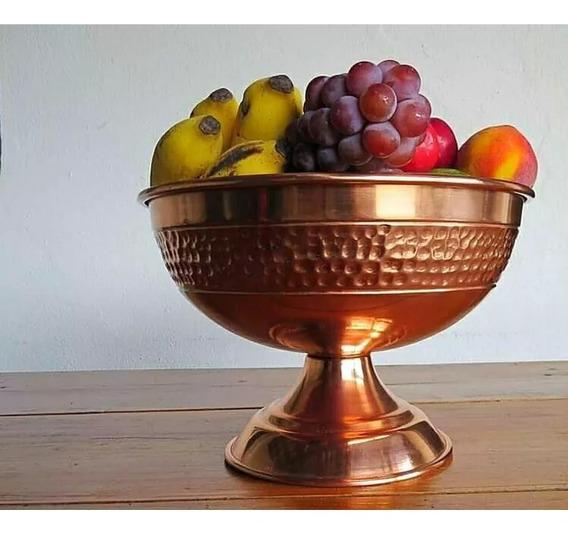 Fruteira De Cobre De Mesa Em Cobre