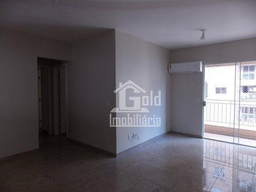 Apartamento Com 2 Dormitórios Para Alugar, 71 M² Por R$ 1.400,00/mês - Jardim São Luiz - Ribeirão Preto/sp - Ap4229