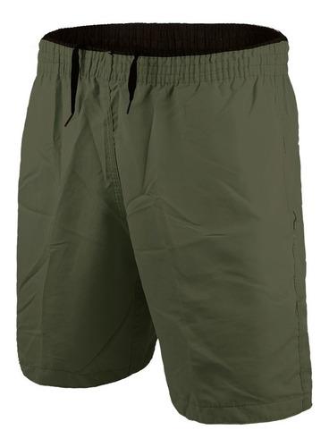 Imagem 1 de 7 de Kit 10 Shorts Masculino Calção Esportivo Caminhada Corrida
