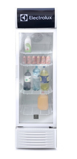 Refrigerador Electrolux Vitrina Erh29t3kqw Blanco 282l