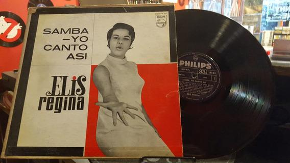 Elis Regina Samba Yo Canto Asi Lp Disco Vinilo Brasil Ex