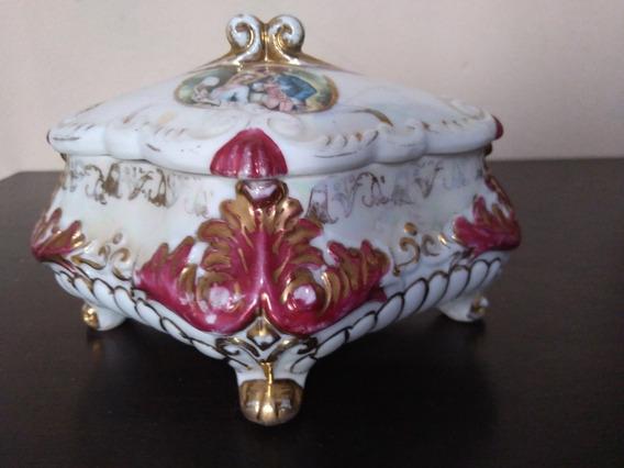 Porta Joia Em Porcelana Caixa De Jóias Caixa De Porcelana
