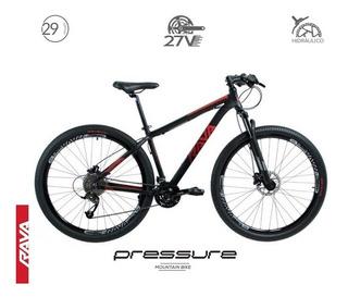 Bicicleta Rava Pressure 29 27v Hidráulico K7 Trava