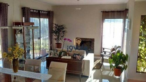 Linda Casa, Amplo Terreno, 3 Dormitórios, Reserva Da Fazenda São Francisco - Ca0642
