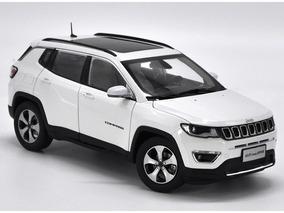 Miniatura Jeep Compass Branco 1:18 - Peça De Coleção !!!!