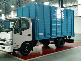 Camión Hino 616 0km Con Caja Todo Puerta Listo Para Entregar