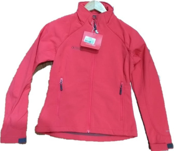 Campera Nexxt Tomsk Softshell Mujer Impermeable Rompevientos