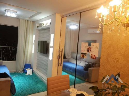 Apartamento À Venda, 55 M² Por R$ 280.000,00 - Jardim Das Américas - Londrina/pr - Ap0824