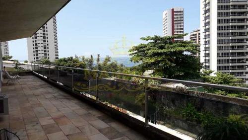Casa Duplex, 4 Quartos 4 Suítes, 4 Vagas, São Conrado. - Abca40004