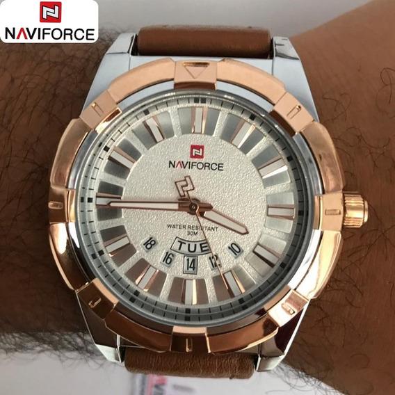 Relógio De Quartzo Analógico Original Prateado 3atm 9118
