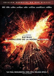 Dvd - Batman: El Caballero De La Noche Asciende (2 Discos)