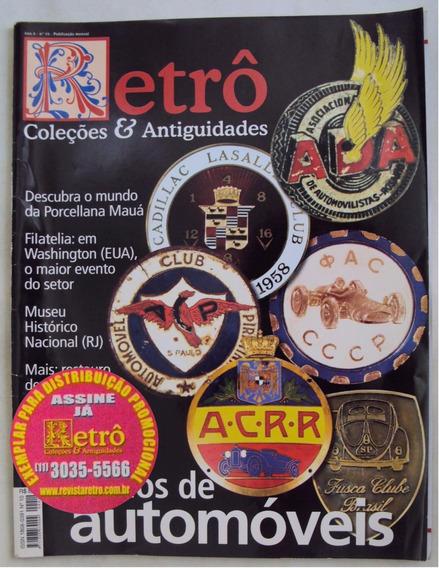 Revista Retrô De Coleção Nº 10 Escudos De Automóveis