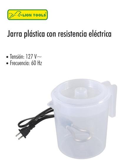 Jarra De Plástico Con Resistencia Eléctrica1 Lt