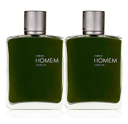 2 Perfumes Homem Verum 100ml Natura Ori - mL a $386