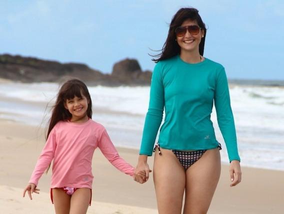 4 Camisa Proteção Uv Solar Fator 50 Térmica Promoção