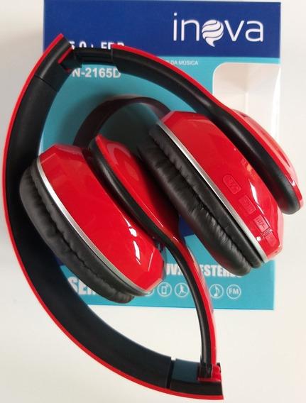 Fone De Ouvido Headphone Bluetooth Estéreo Inova 2165