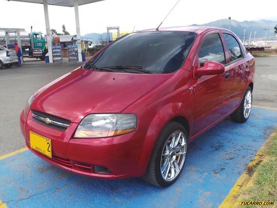 Chevrolet Aveo Ls Mt 1600 Cc Aa