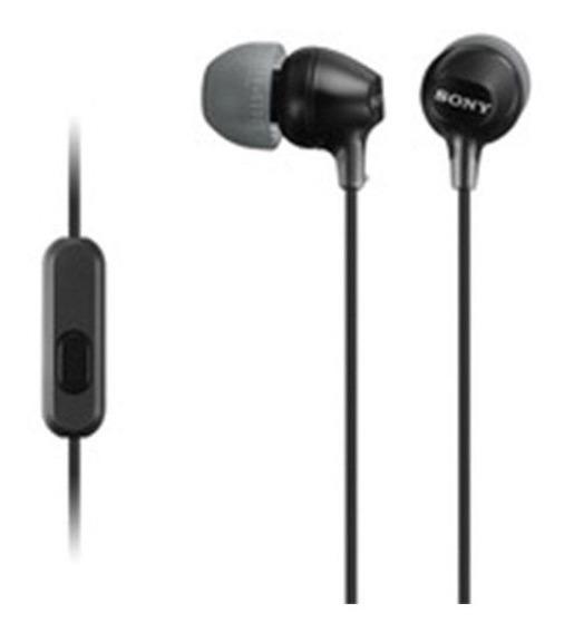 Auricular Sony Mdr-ex15ap Negro