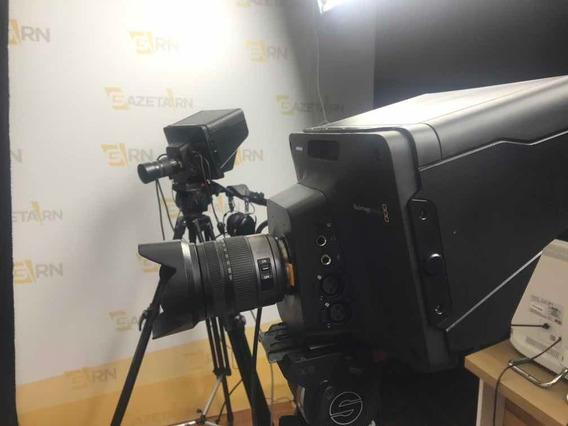 Kit De 3 Câmeras Blackmagic Studio 4k 2 + Atem + Acessórios