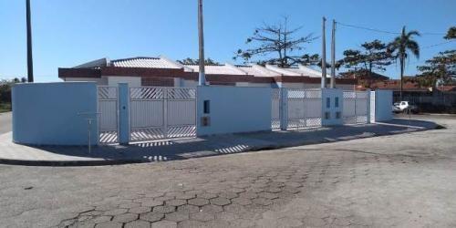 Imagem 1 de 14 de Casa Geminada Com Piscina Em Itanhaém/sp 6878-pc