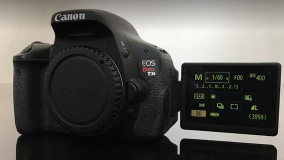 Canon T3i Corpo 12x Sem Juros