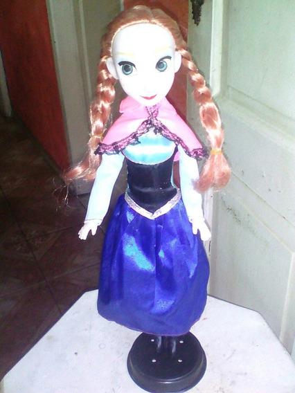 Boneca Ana Frozen 37cm Grande Nao E Original