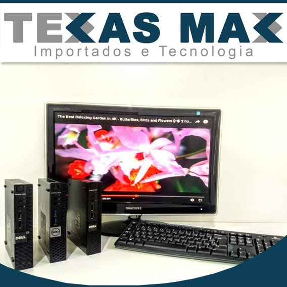 Dell Optplex 3020 I3 Small Form Mini 4gb/hd500 Kit Completo