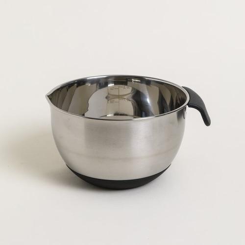 Bowl Batidor De Acero 22cm Con Medidor - Maestro De Cocina