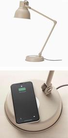 Lámpara Led De Escritorio Con Cargador Usb Wireless Charging