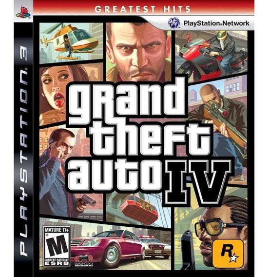 Grand Theft Auto 4 (greatest Hits --- Região 1) { Ps3 }